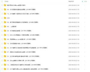 某宝购买SEO+SEM视频教程 共13套 超级全